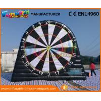 China Waterproof Inflatable Sports Games 0.55 MM PVC Tarpaulin Inflatable Target Game wholesale