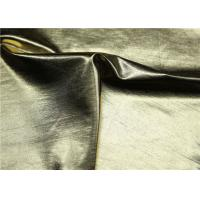 """Custom PU Synthetic Leather Gold Pearlied Color 54 """" Width For Backpack"""