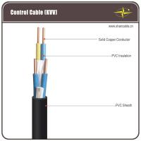 China Corrosion Resistant Black PVC Insulated / Shielded Control Cable For Being Laid Indoors wholesale