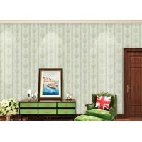 China European Style Floral Beige Non Woven Wallpaper for house decoration wholesale