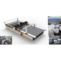 China High Speed Automatic Cloth Cutting Machine For Stuffed Toys Garment Industry wholesale