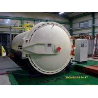Aerated Concrete Block Wood Rubber Glass Autoclave For Aac Block Plant Φ3m