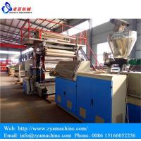 Wholesale PVC Artificial Marble Sheet/Panel Extrusion Machine from china suppliers