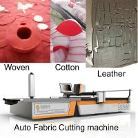 China Knit garments 2m Width Clothes Cutting Machine For Polo Shirt / Hoodie / Tank Top wholesale