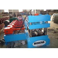 China Simple Speed 0 - 15m/min Guard Rail Roll Forming Machine For Highway wholesale