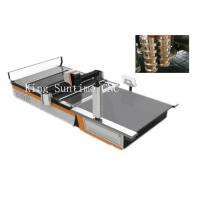 China Stainless Steel Cutting Head Automatic Cloth Cutting Machine 16 - 25kw Power wholesale