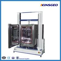 Wholesale 1000KN Tensile Testing Tester , Double Pole PVC Testing Equipment with Speed 0.1-500mm/min from china suppliers