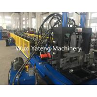 China Fully Automatic CZ Purlin Roll Forming Machine With Leveling And Hydraulic Punching wholesale
