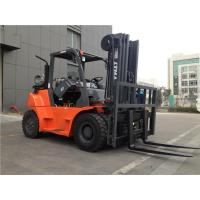 6 Ton 7 Ton Sit Down Propane Forklift , CNG Forklifts Used In Warehouses