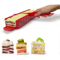 ABS Kitchen Baking Tools Stackable Appetizer Maker Red SGS 38 * 7 * 7cm
