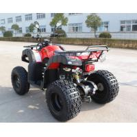 Farm 200CC Engine EEC ATV Petrol Red Utility With Four Wheels