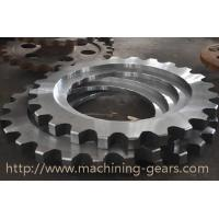 Quality Non - Standard Aluminum Motorcycle Chain Sprockets Industrial Machinery Parts for sale