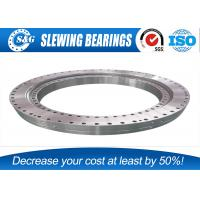 Buy cheap Industrial Slew Ring Gears , Outer Gear Ball Bearing Ring For Excavator Part from wholesalers