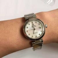 Omega LADYMATIC Series 425.30.34.20.55.001 Pearl Dial Lady Watch