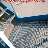 Wholesale Q235 25mm 30mm 32mm 40mm building materials galvanized steel grating for platform road drainage from china suppliers