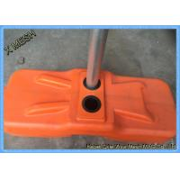 Temporary Security Fence Panels Concrete Filled Plastic Feet High Quality HDPE