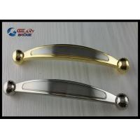 Wholesale Chrome 64mm Kitchen Cabinet Handles , Modern Bathroom Drawer Pulls Arched Golden from china suppliers