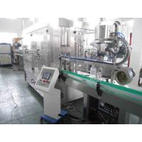 China Rotary Juice Beverage Filling Machine , 3 In 1 Liquid Packaging Equipment wholesale