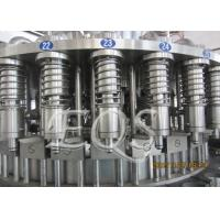 China Pet Bottle Tea Hot Filling Machine 12000BPH , 3 in 1 Washing Filling Capping Machine wholesale
