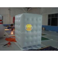 Buy cheap Fireproof Advertising Custom Shaped Balloons, Inflatable Advertising Cube for Bladder from wholesalers