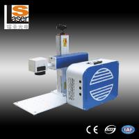 Wholesale Portable Laser Marker , Mini Metal Marking Laser Machines With Rotation from china suppliers
