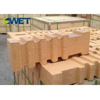 Anchoring Kiln Refractory Bricks , Chemical Resistant Fire Rated Bricks