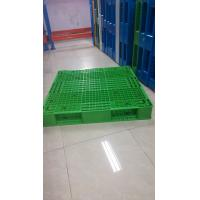 Wholesale Green color reversible plastic pallet and demension 1100x1100x150mm from China from china suppliers