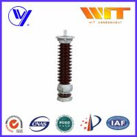 Wholesale Glazed Silicone MOA Lightning Surge Arresters for Substation Protection 35KV from china suppliers