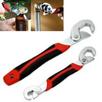 New 2PC Snap'N Grip 9-32mm Adjustable Wrench Spanner Universal Quick Multi-function
