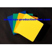 Buy cheap 4 X 8 Glossy Surface PVC Foam Board Sheet For Indoor / Outdoor Decoration from wholesalers