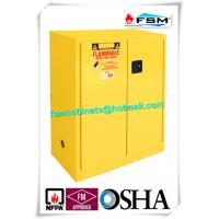 Lockable Safety Storage Cabinets Adjustable Fireproof Vents For Flammable Liquids