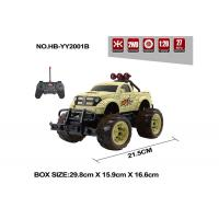 Multi Color Children's Remote Control Toys Bigfoot RC Jeep 27MHz  Frequency