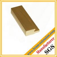 Wholesale OEM design lock cylinder material copper extrusion profile section from china suppliers