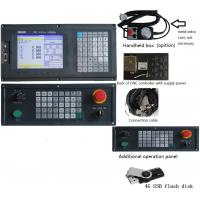 China Humane 4 Axis milling CNC Controller system with usb + dsp function , PLC ladder and ATC wholesale