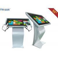 China High brightness Standing Advertising Player / 55 inch touch screen kiosk wholesale
