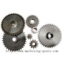 China Auto Transmission Chain Sprocket Wheel , Engineered  Roller Chain Sprockets wholesale