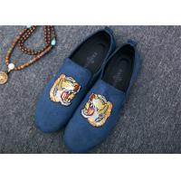 Wholesale Men Loafer Slip On Shoes Flat Casual Shoes Tiger Metal At Vamp Velvet EUR 38 - 45 from china suppliers