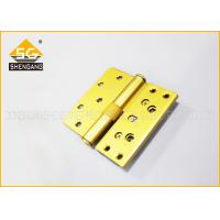 China Three Way Zinc Alloy / Iron Movable Butt Hinges Cerniere A Farfalla wholesale