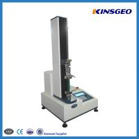 Wholesale 1000mm Tensile Strength Testing Equipment With Single Pole / Panasonic Servo Motor from china suppliers