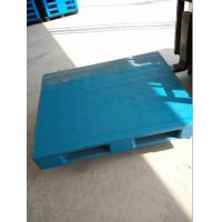 Wholesale Hot sale 1200x800x150mm flat top with three skids plastic pallets from China from china suppliers