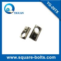 Quality half round nut slot 6, ball nut for aluminum slot for sale