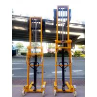 Double mast manual stacker CTY series 1000kg 3000mm hand pallet lifer with high quality
