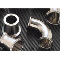 """Wholesale Clamped Sanitary Valves And Fittings , Stainless Steel Valves And Fittings 1""""x1.65mm from china suppliers"""