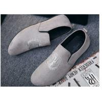 Wholesale Custom Made Girl Velvet Loafers Slip on Style Fringe Decoration Suede Leather from china suppliers