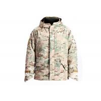 Wholesale Waterproof Military Tactical Camo Jacket , Multicam Winter Coat Abrasion Resistant from china suppliers