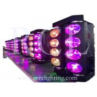 4 in 1 LED Moving Head Wash Light 8 * 10W RGBW Tri LED Spider DJ Lighting Fixtures