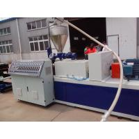 PP / PE Electric Wire Corrugated Plastic Pipe Extrusion Line , Corrugated Pipe Extruder