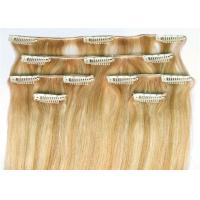 Wholesale Straight Clip In 100% Unprocessed Virgin Human Hair 16 Inch - 24 Inch Hair Extensions from china suppliers