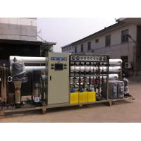 Food Industry Reverse Osmosis System , Packaged Drinking Water Treatment Machine