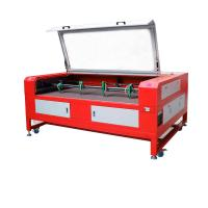 CNC Fabric Cutting Machine 4 Head 150w / 180w Co2 With DSP Control Softwear